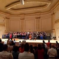 Foto scattata a Stern Auditorium / Perelman Stage at Carnegie Hall da Christoffer J. il 6/19/2018