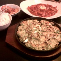 Photo taken at Ccozi n friends - korean dining food by Fitra F. on 3/24/2013