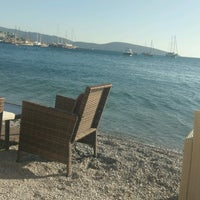 Photo taken at Artemis Beach by Cetin K. on 10/15/2016