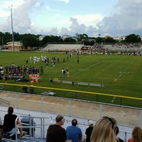 Photo taken at South County Regional Football Stadium by Jay C. on 8/26/2016