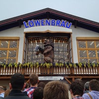 Photo taken at Löwenbräu-Festzelt by yos1996 よ. on 9/28/2013