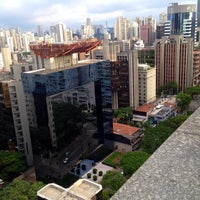 Photo taken at Prodigy Grand Hotel & Suites Berrini by Ronaldo M. on 3/27/2014