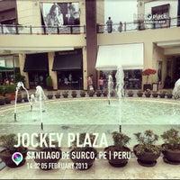 Photo taken at Jockey Plaza by Evii M. on 2/5/2013