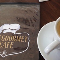 Photo taken at Dom Gourmet Café by Sari T. on 1/10/2015