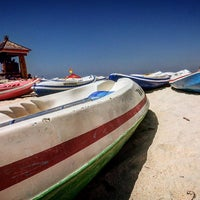 Photo taken at Pandawa Beach by Rizky P. on 7/4/2016