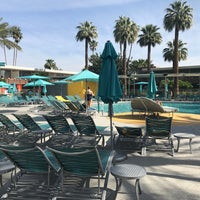 Photo taken at Hotel Valley Ho Pool by Nancy W. on 4/10/2017