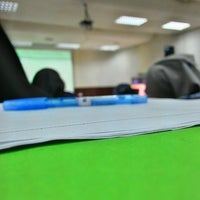Photo taken at Lecturer Theater 4 (LT4) UiTM Perlis by mohamad f. on 9/14/2015
