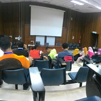 Photo taken at Lecturer Theater 4 (LT4) UiTM Perlis by mohamad f. on 7/30/2015