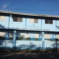 Photo taken at Arima Girls Government Primary  school by Kurt W. on 2/16/2013