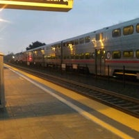 Photo taken at Mountain View Caltrain Station by Hagop A. on 1/10/2013