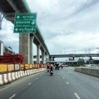 Photo taken at Borommaratchachonnani Intersection by Wen J. on 7/14/2017