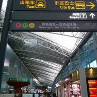 Photo taken at Guangzhou Baiyun International Airport (CAN) by Yongmin L. on 3/1/2013