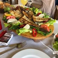 Photo taken at Kıyı Restaurant by Merve A. on 6/20/2018