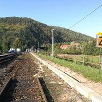Photo taken at Železniční stanice Borač by Marek J. on 9/30/2017