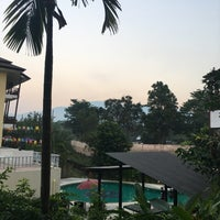 Photo taken at Mountain Creek Wellness Resort Chiangmai by Joe_akkawi😘 t. on 1/19/2017