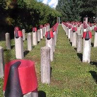 Photo taken at Pradler Friedhof by Merve C. on 8/15/2016