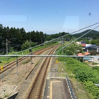 Photo taken at Funagata Station by 直哉 on 6/2/2018