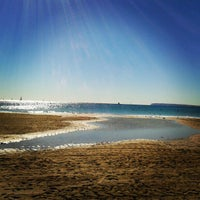 Photo taken at Playa La Albufereta by Gabie V. on 10/28/2012