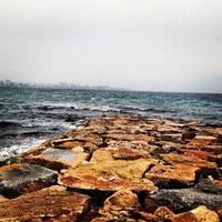 Photo taken at Postiguet Beach by Gabie V. on 2/19/2013