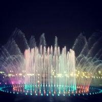 Photo taken at King Abdullah Park by FaHaD on 10/18/2013