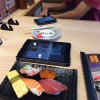 Photo taken at 廻転寿司 にぎりの徳兵衛 イオンモール京都桂川店 by 冷た~いホット on 9/2/2016