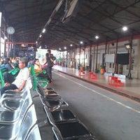 Photo taken at Stasiun Jatinegara by yosha r. on 3/12/2013