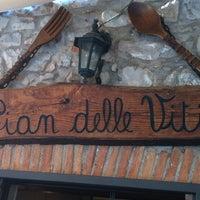 Photo taken at Osteria Pian Delle Viti by Cristina L. on 1/18/2013