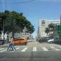 Photo taken at Rua 24 de Maio by Rafael M. on 2/6/2014