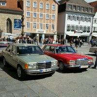 8/21/2016에 Jürgen B.님이 Marktplatz Reutlingen에서 찍은 사진