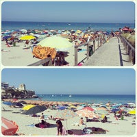 Photo taken at Spiaggia di Torre dell'Orso by Greta on 7/28/2013