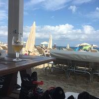 Photo taken at Chiringuito de la Mar Bella by ESTELA M. on 8/9/2016