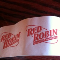 Photo taken at Red Robin Gourmet Burgers by Marc J. on 10/13/2012