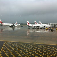 Photo taken at Bandaranaike International Airport (CMB) by Kay B. on 10/17/2012