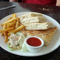Photo taken at Aromas Cafe by Rohan H. on 3/29/2013