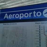 Photo taken at Terminal Integrado Aeroporto by Wagner L. on 10/25/2012