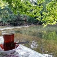 Photo taken at Üzümdere Alabalık Çiftliği by Yasemin Ç. on 6/28/2017