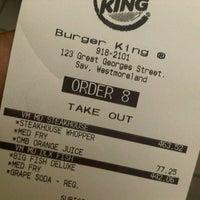 Photo taken at Burger King by Ryan S. on 8/17/2012