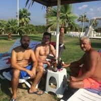 Photo taken at Casmin Otel Beach by Burhan B. on 8/20/2017