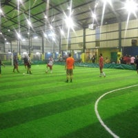 Photo taken at Champion Futsal Arena by teguh s. on 2/12/2015