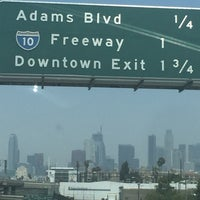 Photo taken at Harbor Freeway by Carole d. on 6/25/2016