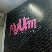 Photo taken at MyUfm Communication Center by eysxx _. on 12/15/2015
