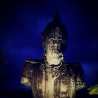 Photo taken at Garuda Wisnu Kencana (GWK) Cultural Park by Dede S. on 1/23/2013