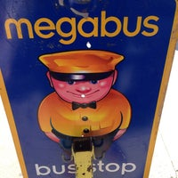Photo taken at Megabus Bus Stop - South Side White Marsh Mall by @KuteKreationz on 8/14/2013