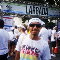 Photo taken at Color Run Recife by Alisson V. on 7/28/2013