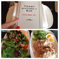 Photo taken at Toast Kitchen + Bar by Kate R. on 4/20/2014