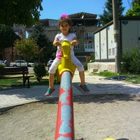 Photo taken at Samet Saraç Parkı by Esra&tolga A. on 9/3/2016