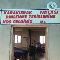 Photo taken at Karakısrak Yaylası by Muhammet K. on 9/14/2016