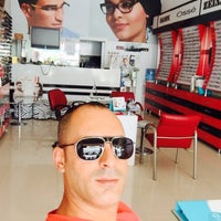 Photo taken at Febeach Optik by Oğuz 👍✌️👍 on 8/4/2015