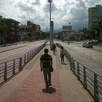 Photo taken at MIO Estacion Manzana del Saber by Edwin T. on 12/30/2012