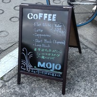Photo taken at Mojo Coffee 神楽坂店 by Hakozaki J. on 12/20/2012